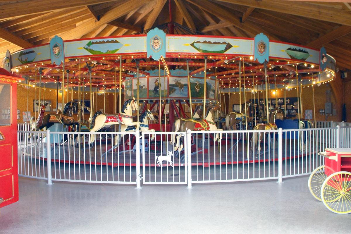 Story City carousel