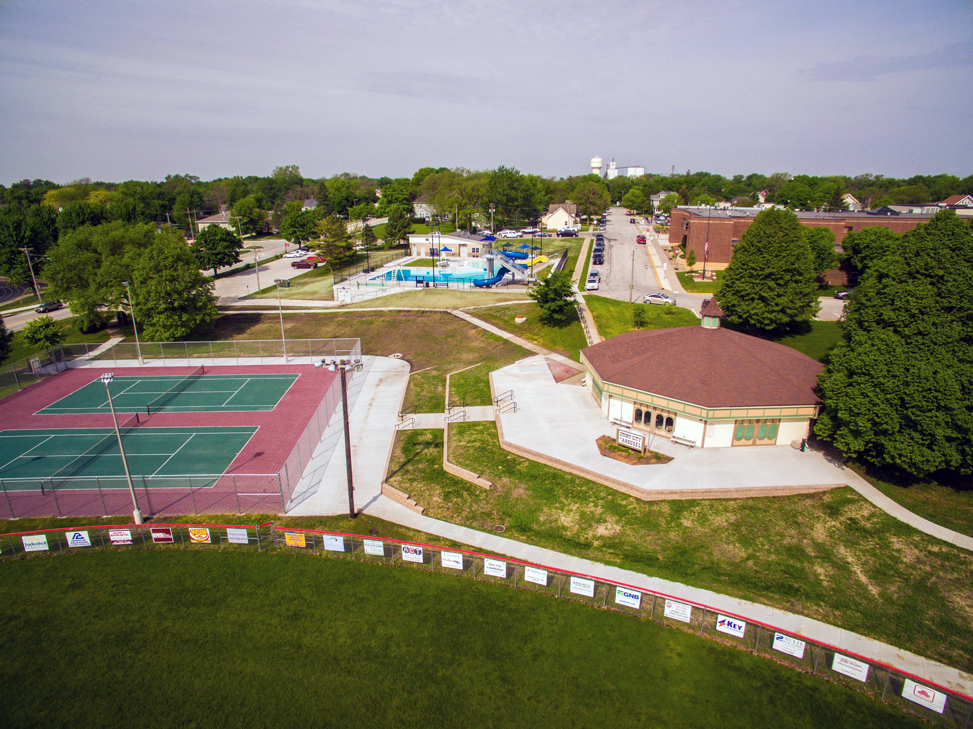 - City of Story City Pool, Carousel, Tennis Courts