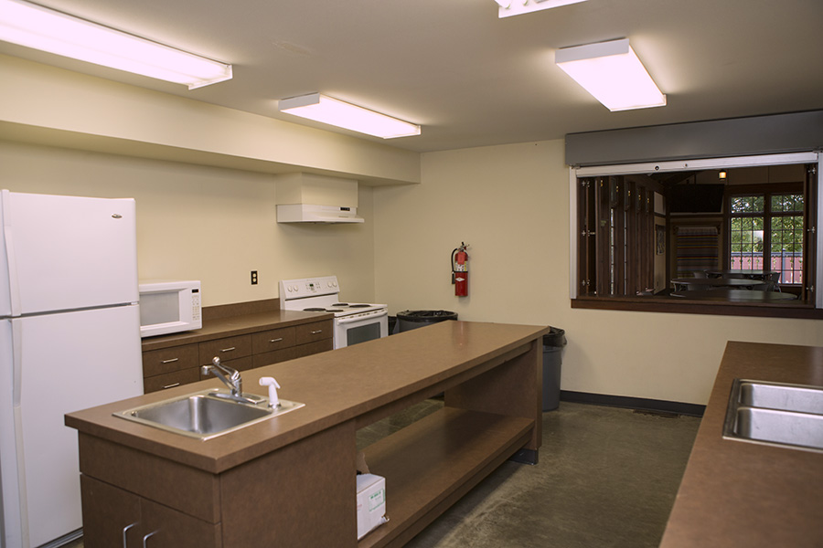 Fairview Lodge kitchen - City of Story City