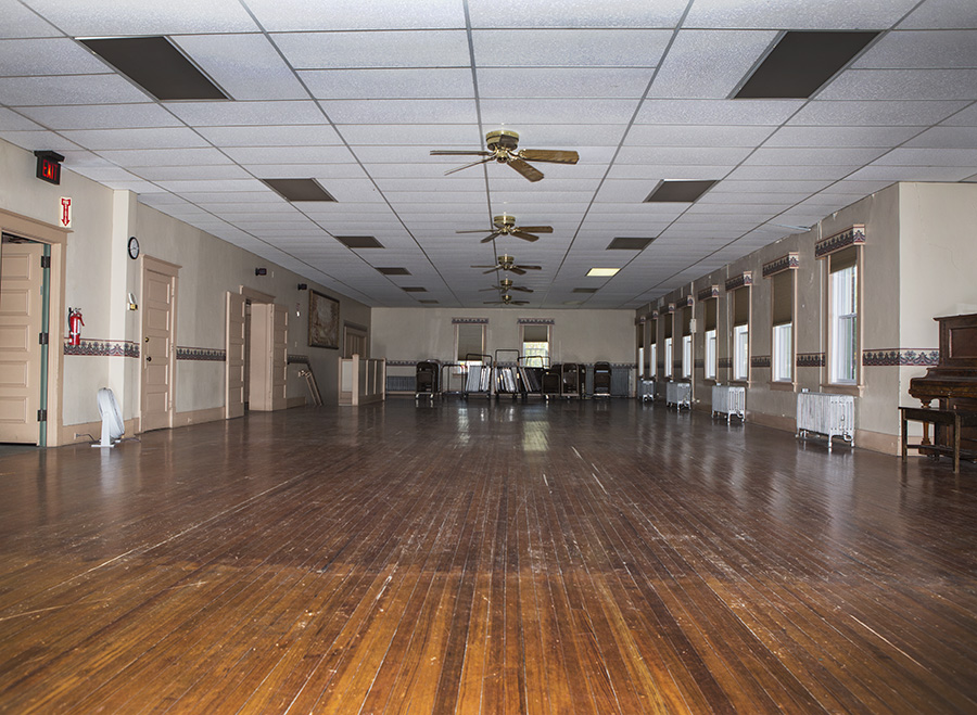 Grand Viking Hall Interior - City of Story City